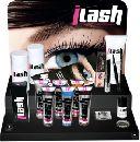 Display vopsea gene si sprancene echipat pentru salon cosmetica ILASH DR. TEMT